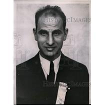 1934 Press Photo Al Capone of UMW, Indianapolis - nef26850