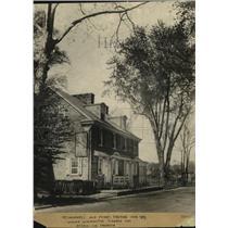 1929 Press Photo McConkey's Old Ferry Taverns, Pennsylvania - cvo04538