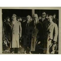 1927 Press Photo John Lewis arrived at the United Mine Workers Convention