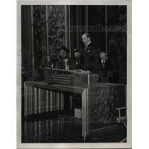 1939 Press Photo Alexander Lauden, Netherlands Minister to the World's Fair