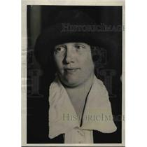 1922 Press Photo Mrs. James J. Davis, Wife of Secretary of State - nef30252