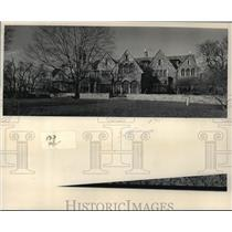 1984 Press Photo Riverbend, the Tudor-style home located on the Sheboygan River.