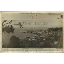 1910 Press Photo Algiers From The Hill of Notre Dame - nef31365