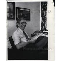 1978 Press Photo Frank Krzeminski Milwaukee Journal Sentinel Employee
