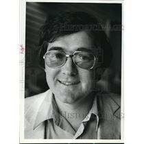 1981 Press Photo Tom Klein, Northland College director of Sigurd Olson Institute