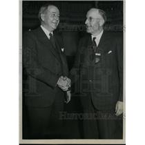 1933 Press Photo Edward A. O'Neal, Charles E. Hearst of American Farm Bureau