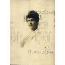 1919 Press Photo Bina M. West, Supreme Commander of the Woman's Benefit Assn.