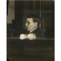 1912 Press Photo Clarence S Funk in a court room - net22484