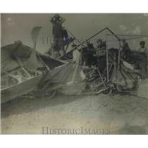 1923 Press Photo Destruction left in wake of a storm - net23276