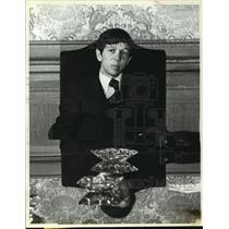 1978 Press Photo Dennis Kucinich Mayor of Cleveland During a Press Conference