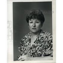1988 Press Photo Marilyn Kucer Milwaukee Sentinel Reporter - mja38360
