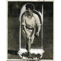1927 Press Photo Betty Davis pitcher of Northwestern University baseball
