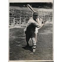 1931 Press Photo Boston Braves outfielder Wes Schulmerich - net25796