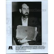 Press Photo Convicted spy Jerry Whitworth featured on Spies, Spies. - mjp04172