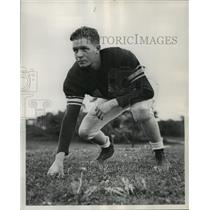 1949 Press Photo Tom Behm Browns football end from Cleveland Ohio - net26090