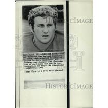 1972 Press Photo Bob Gladieux New England Patriots halfback - net26184