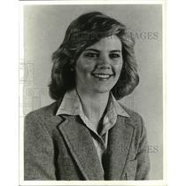 1979 Press Photo Nancy Laffey, TV news anchor. - mjp05741