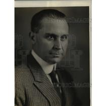 1920 Press Photo Carlos Vallejo Study sent by Argentina Gov't to study at U.S