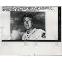 1963 Press Photo Richie Ashburn, New York Mets - net27538