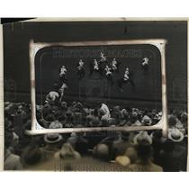 1923 Press Photo United States polo team beats Argentina in Westbury, New York
