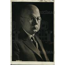 1922 Press Photo Frank J Havin president o fDetroit ball club - net28310