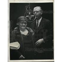 1932 Press Photo Mrs Mary Mooney Mother of Tom Mooney Famous Radical in New York
