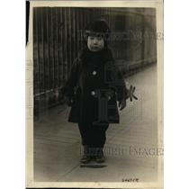 1920 Press Photo Miyu Fujii, Toddler Member Japanese Embassy in Washington, D.C.