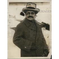 1923 Press Photo Giacomo De Martino Italian ambassador to Japan in NYC