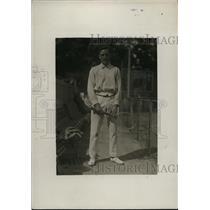 1919 Press Photo 1st Lt Dean Mathey Princeton University tennis - net28778