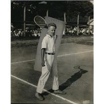 1924 Press Photo Robert Bryass Kentucky child tennis player - net29014