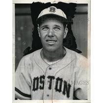 1940 Press Photo Chester Ross, Boston Braves - net29945