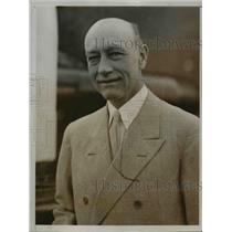 1935 Press Photo Dr Roy Chapman Andrews to Marry Wilhemina Christmas - nef20848