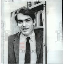 1966 Wire Photo Samuel S. Bowles was fired as Harvard University teacher