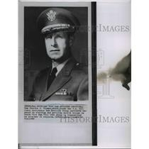 1963 Wire Photo Major General Charles Timmes heads the Vietnam Advisory Group