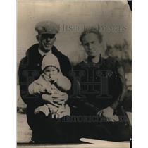 1918 Press Photo Milo H. Piper & Family - nef22524