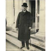 1925 Press Photo Don Cosme de la Torriente at White House - nef23731