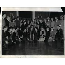 1942 Photo All Star Birthday Luncheon Pres F Roosevelt Actress B Grable