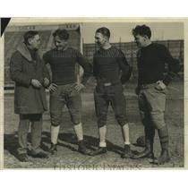 1929 Press Photo Frank Murray-Head Coach-Marquette University's Football Squad.