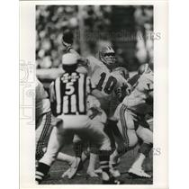 Press Photo Steve Bartkowski, QB, Atlanta Falcons - nes52721