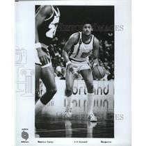 1976 Press Photo Portland Trail Blazers' Maurice Lucas, Foward from Marquette