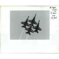 1995 Press Photo Portland Rose Festival - Air Show - orb50605