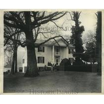 1930 Press Photo The historic home of James Monroe in Virginia - mjx20361