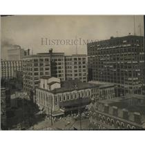 1910 Press Photo Office buildings in Atlanta, Georgia - mjx20493
