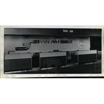 1978 Press Photo Pan American 747 Lifts Off Runway - orb87989