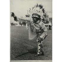 1929 Press Photo George Redboy, grandson of the famous Chief, Red Cloud