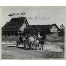 1907 Press Photo Surrey in Yellowstone National Park - nera12508