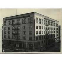 1937 Press Photo View of the New Madison Hotel - spx09777