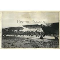 1942 Press Photo A test mobilization of Milwaukee Squadrons 1 and 2 - mjx20625