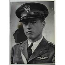 1936 Press Photo William Bogen Co-Pilot of Missing Utah Western Airliner