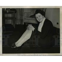 1940 Press Photo Marie McMillin Jumped 24,800 Feet at Cleveland Air Races